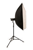 Studio strobe isolated Royalty Free Stock Photography