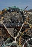 Studio sulle nasse per crostacei e sulla corda Fotografie Stock