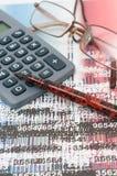 Studio sulle opportunità finanziarie Immagini Stock Libere da Diritti