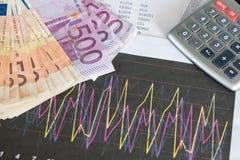 Studio sulle opportunità finanziarie Fotografia Stock
