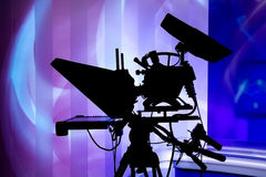 Studio Television Camera Stock Photography