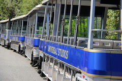 Studio Tour Tram at Universal Studios Hollywood Stock Image