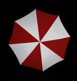 Studio van paraplu wordt geschoten - close-up dat Stock Afbeelding