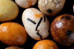 Studio vario del apetizer dello spuntino di colore del Giappone Fotografia Stock Libera da Diritti