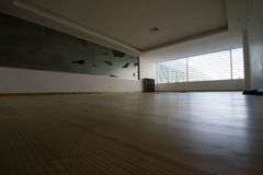 Studio vide de yoga de pièce à Saint-Domingue Photographie stock