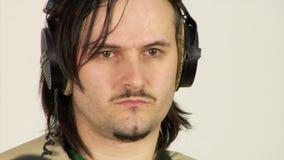 Studio video shooting stock video footage