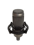 Studio vocal microphone isolated 2 Royalty Free Stock Photo