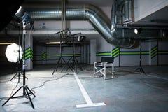 Studio w parking Obrazy Stock