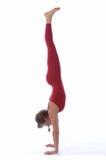Studio Yoga Royalty Free Stock Photography