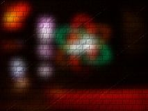 Studio-Ziegelsteine lizenzfreie stockfotografie