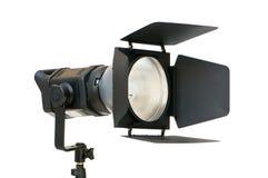 Studiobeleuchtung getrennt auf dem Weiß Lizenzfreie Stockfotografie