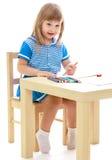 Studiofoto der Kinder Mittel Stockbild
