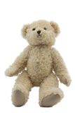 Studiofoto des braunen hellen Bärenspielzeugs Lizenzfreie Stockfotografie
