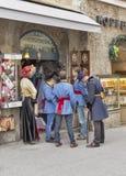 Studiofotosession in Salzburg, Österreich Lizenzfreies Stockfoto