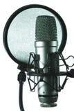 Studiomikrofon Lizenzfreies Stockfoto