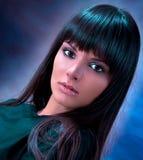 Studioportrait der indischen Schönheit Lizenzfreies Stockbild