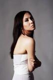 Studioportrait des schönen asiatischen Mädchens Stockbild