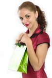 Studioportrait des schönen Mädchens Lizenzfreie Stockfotos