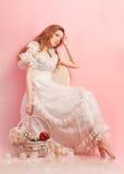 Studioportrait einer schönen Frau Lizenzfreie Stockbilder