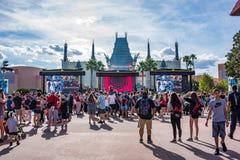 Studior för Disney ` s Hollywood i Orlando, Florida royaltyfri fotografi