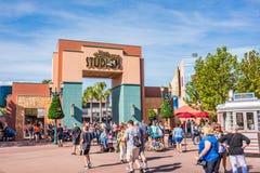 Studior för Disney ` s Hollywood i Orlando, Florida arkivfoton