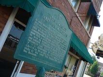 Studios de Sun, Memphis, Tennessee Image stock