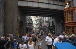 Studios Flor de Harry Potter Diagon Alley Universal du monde de Wizarding Photos libres de droits