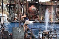 Studios universels à Los Angeles, la Californie, Etats-Unis Images libres de droits