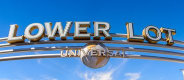 Studios universels Hollywood Park, Los Angeles, Etats-Unis Photographie stock libre de droits