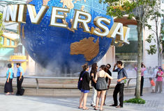 Studios universels Sentosa Images stock