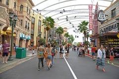 Studios universels Singapour Photos stock