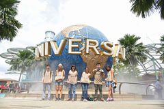Studios universels Singapour Images stock