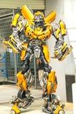 Studios universels Singapour de transformateurs @ Photo stock