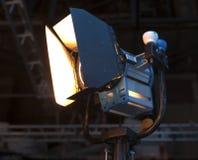 Studioschijnwerper of Stadiumlicht Royalty-vrije Stock Foto's