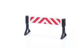 Studioshot знака барьера Стоковое фото RF