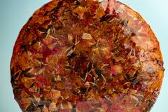 Studioskott av kinesiska puerhtekakor arkivbild