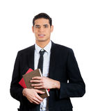 Studious, educated businesspeople Stock Photo
