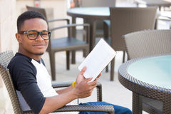 Studious guy Stock Photos