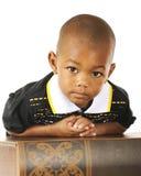 Studious Preschooler Stock Photography