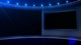 Studiovertoning door venster stock footage