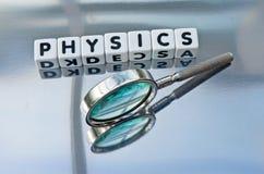 studiowanie fizyki Obraz Stock
