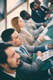 Studiowanie marketing Zdjęcie Stock