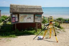 Studland Beach National Trust UK Royalty Free Stock Photography
