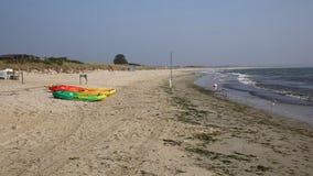 Studland Knoll beach Dorset England UK near Sandbanks stock footage