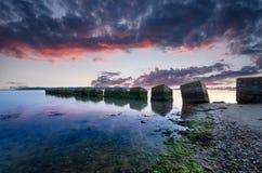 Studland Sunrise Royalty Free Stock Photography