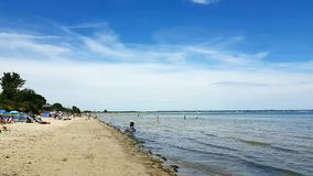 Studland is a village and civil parish on thStudland beach of poole in Dorset Stock Photography