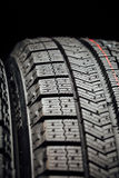 Studless winter tire protector Stock Photography