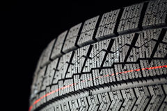 Studless winter tire protector Stock Images