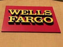 Studni Fargo banka logo obraz stock