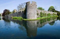 Studnie, Somerset zdjęcie stock